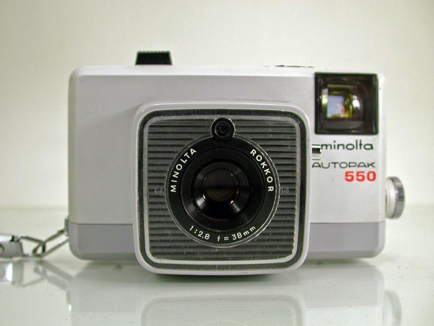 Minolta Autopak 550 Three Manual Focus Zone 126 Film Cartridge Camera Manual Focus Vintage Cameras Camera