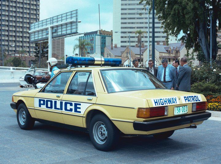 Historic Australian Police Cars Qld Highway Patrol In S