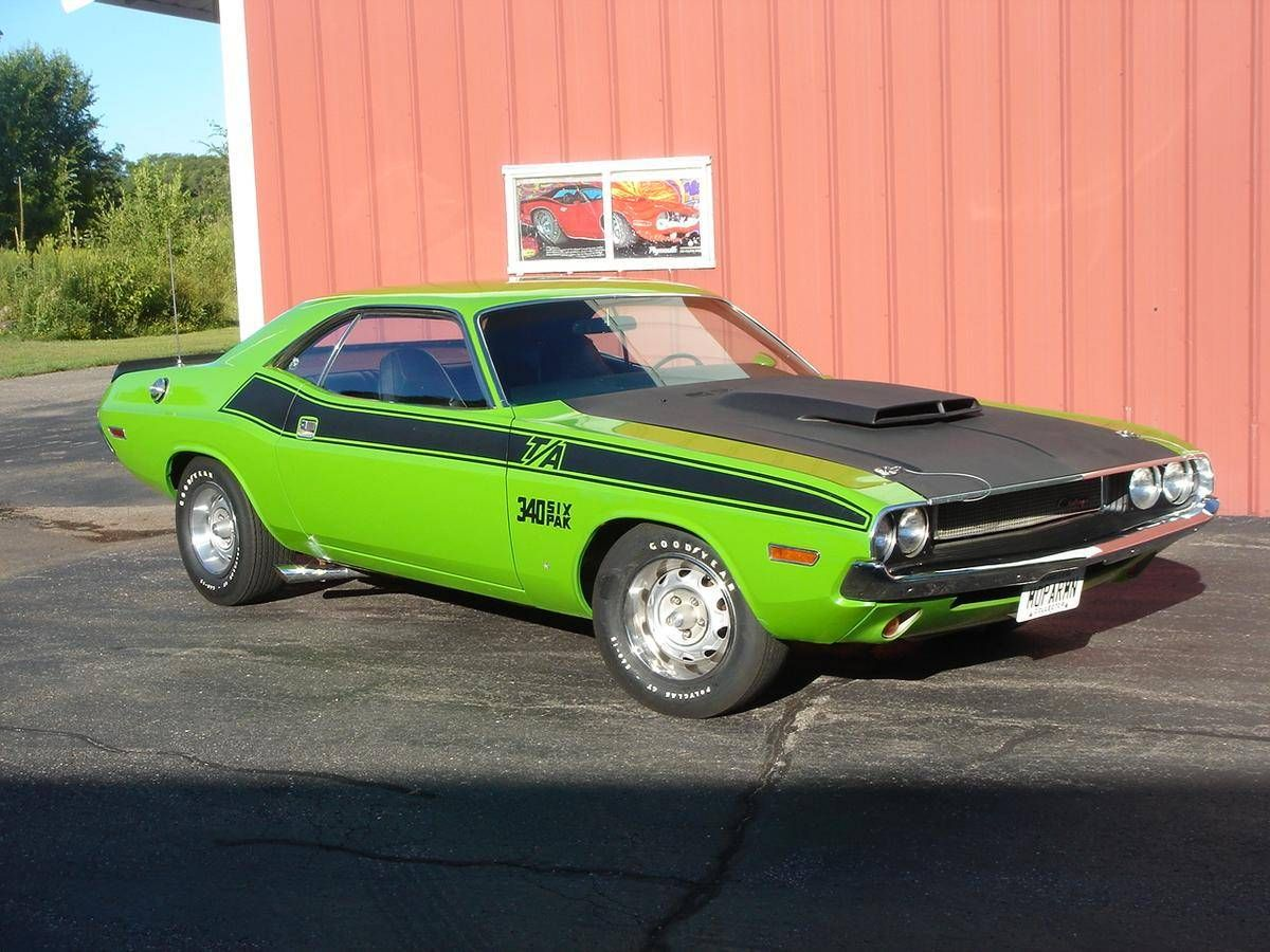1970 Dodge Challenger T/A 340 Six-Pack..Re-pin brought to you by ...