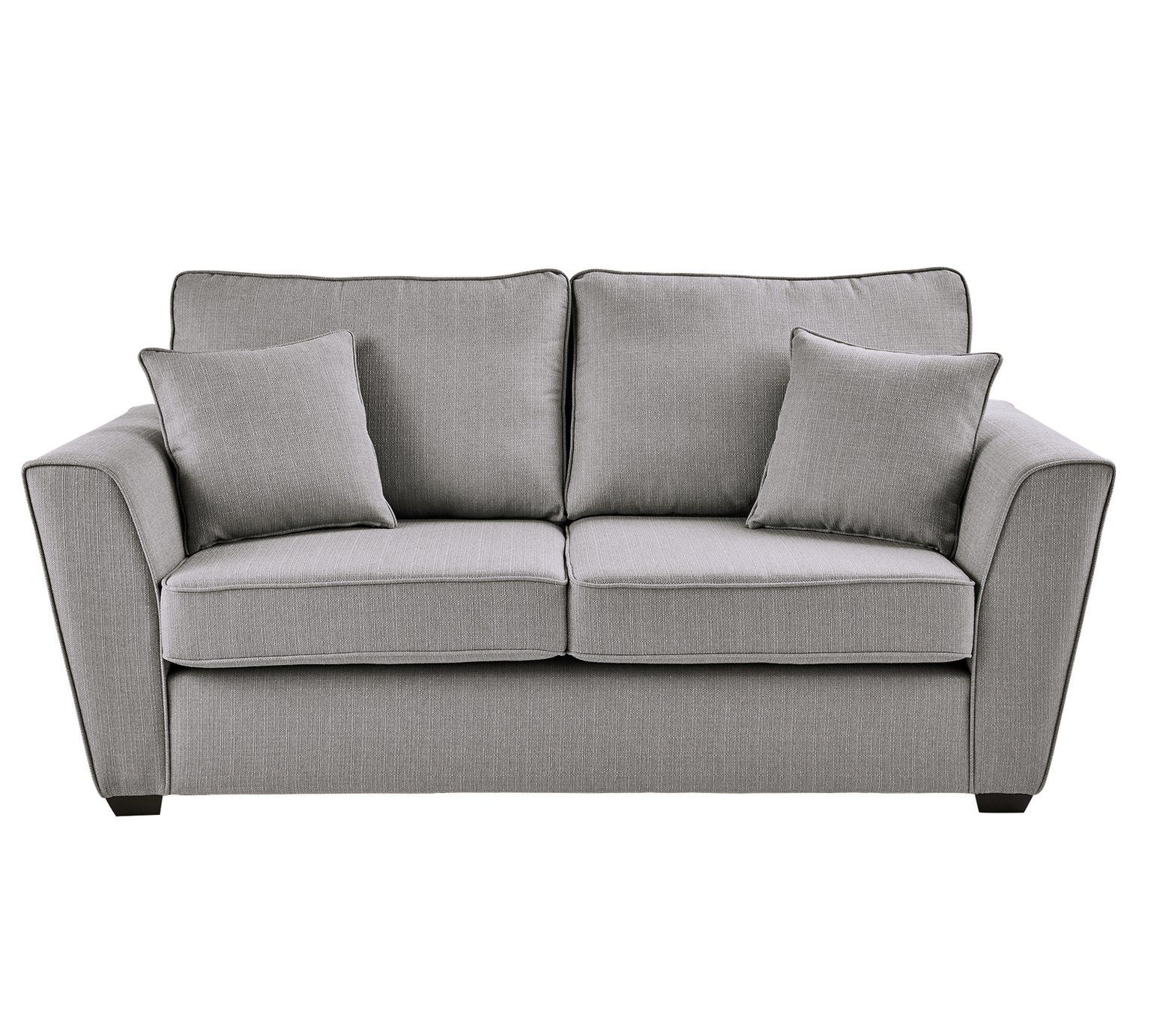 Amazing Buy Collection Renley 2 Seater Fabric Sofa Light Grey Bralicious Painted Fabric Chair Ideas Braliciousco