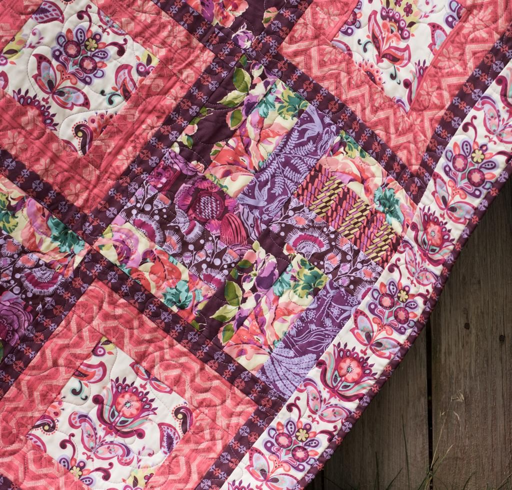 Flower Boxes Quilt | Amy butler and Amy butler fabric : flower box quilts - Adamdwight.com
