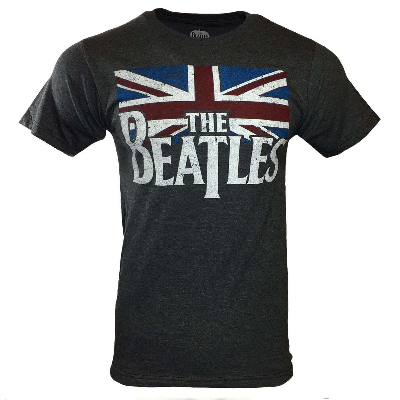 THE BEATLES Men Tee T Shirt John Lennon Rock Band Logo