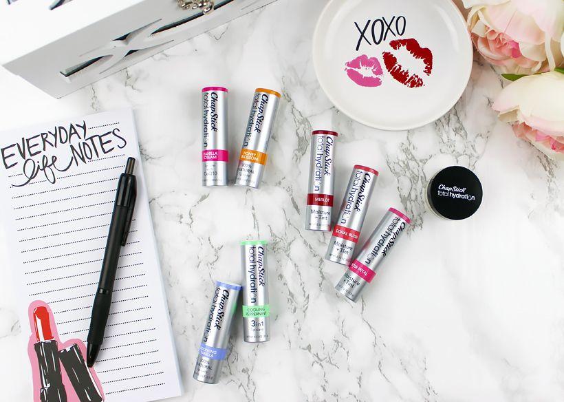 Chapped Lips Survival Kit ChapStick® Total Hydration Line