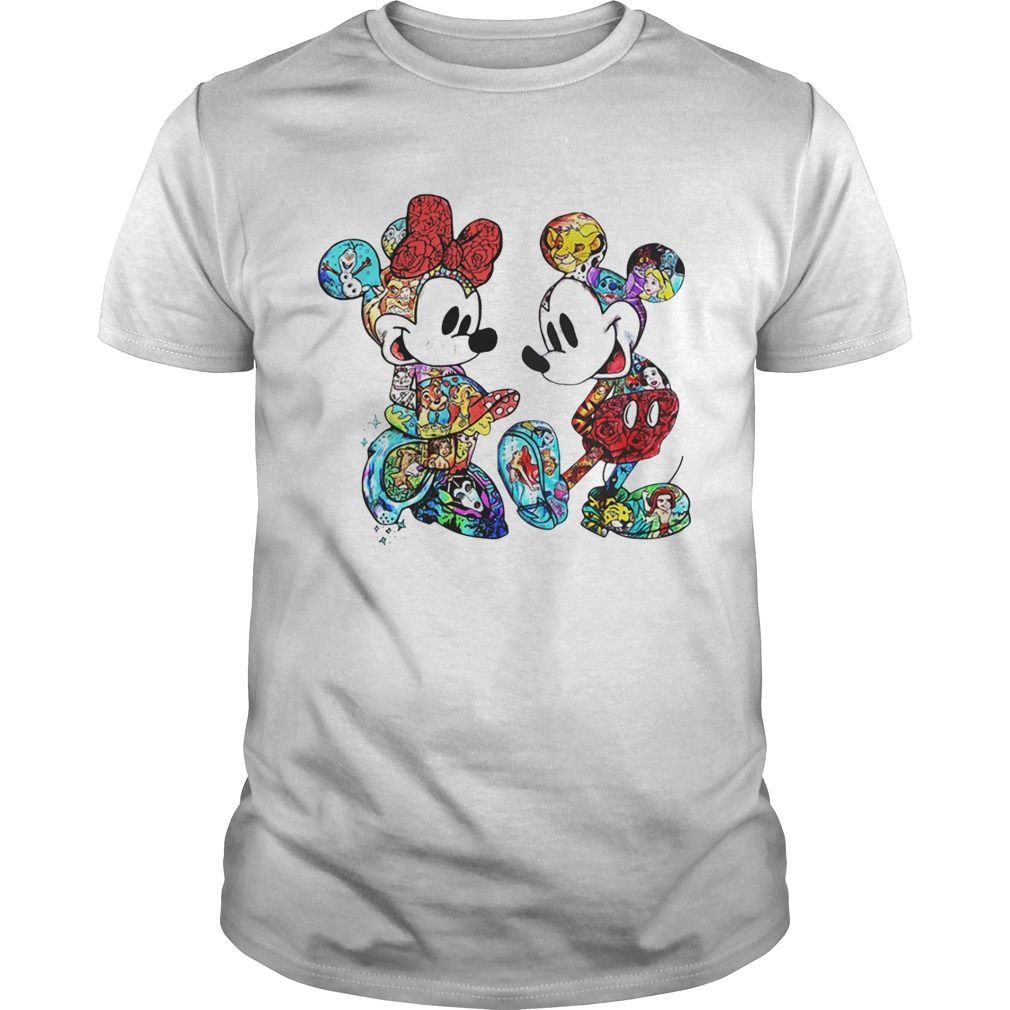 710685e4 Disney Mickey Mouse and Minnie shirt in 2019 | Tshirt Trend | Mickey ...