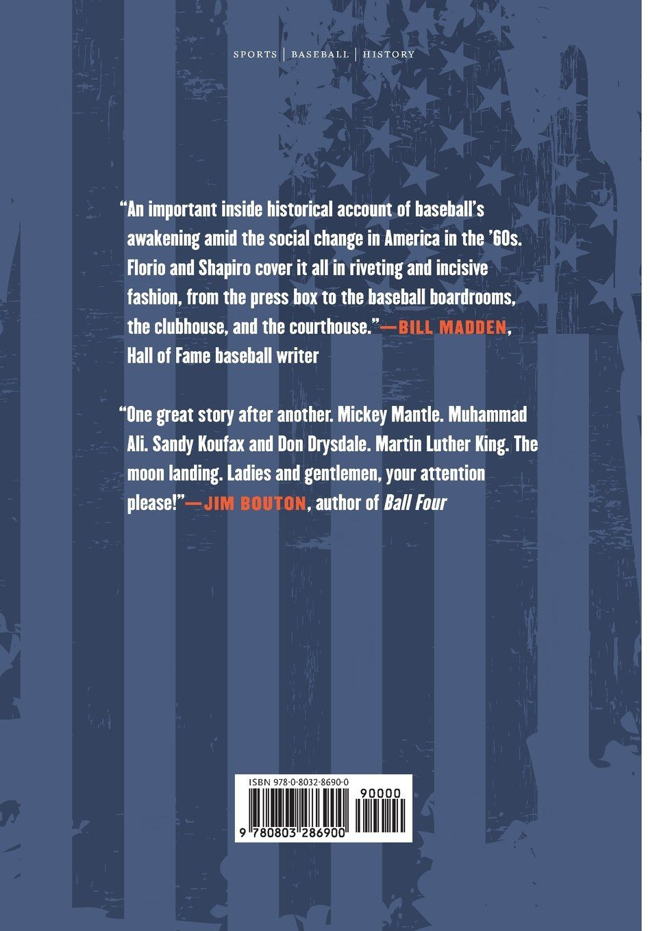 One Nation Under Baseball How The 1960s Collided With The National Pastime Hardcover April 1 2017 Collided Nation Base National First Nations Baseball