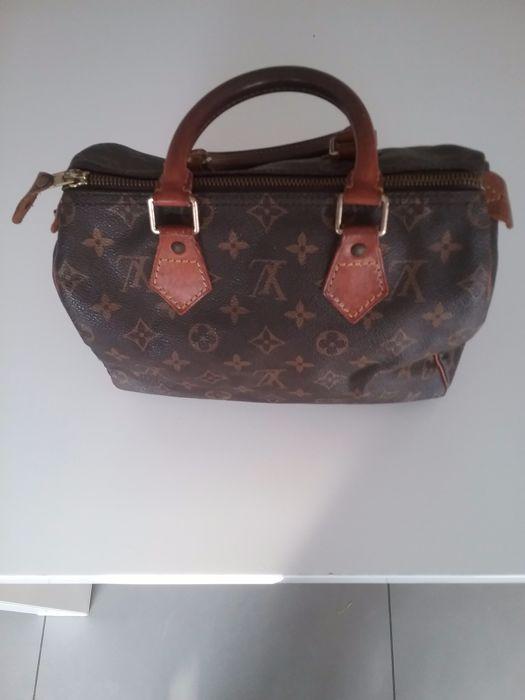 06f0bd31cb02 Louis Vuitton - Speedy 25 - Vintage 90 s Brown LV monogram - Coated canvas   LeatherA