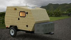 harbor freight trailer camper plans - Google Search | teardrop | Diy