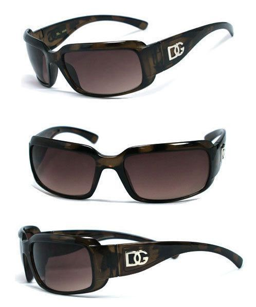 New Women Men Designer DG Sunglasses Free Pouch Tortoise DG151