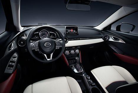 Mazda CX-3 med SKYACTIV Technology, KODO – Soul of Motion design ...