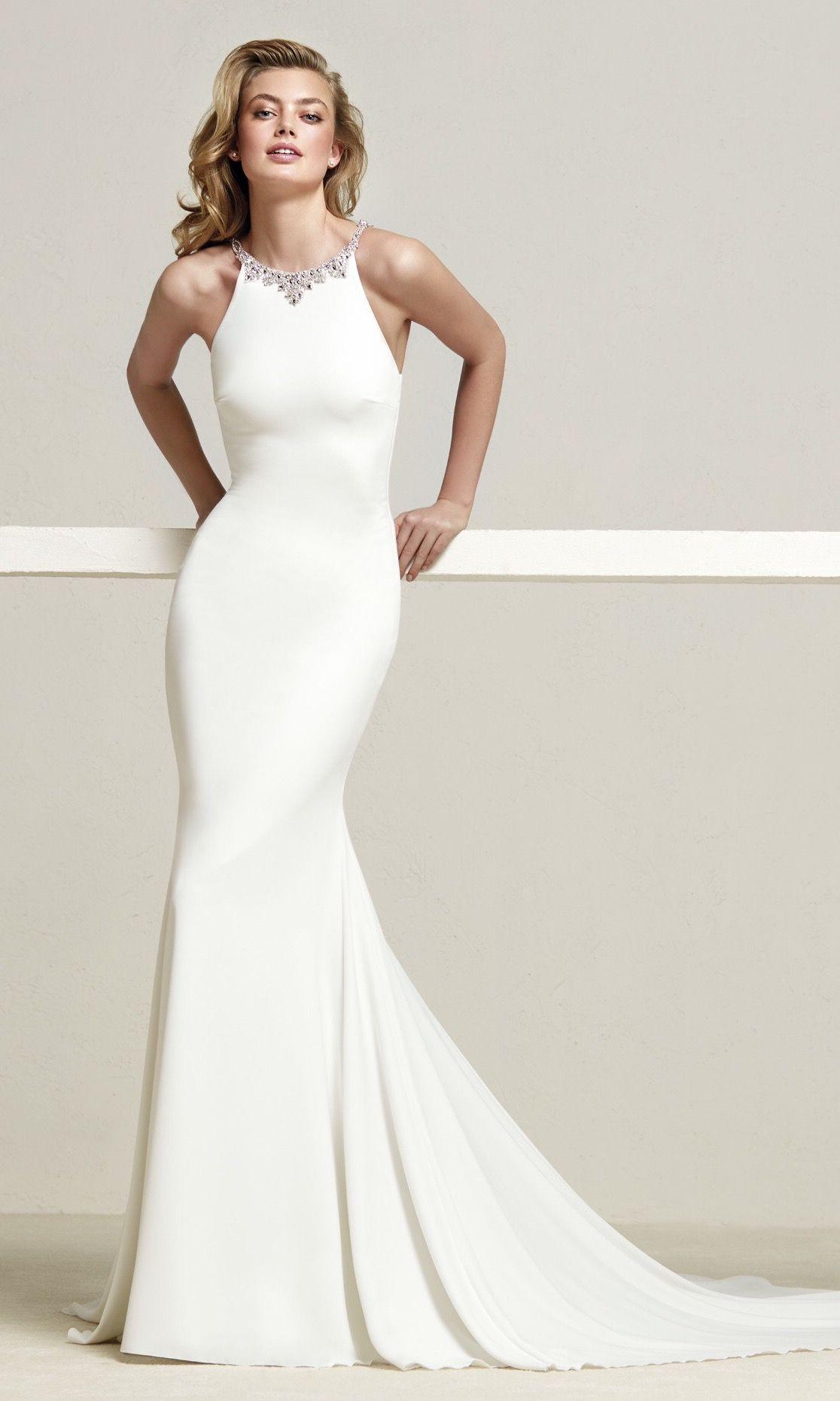 Back out wedding dresses  Pronovias  Collection DREBA  At the Altar Fashion  Pinterest
