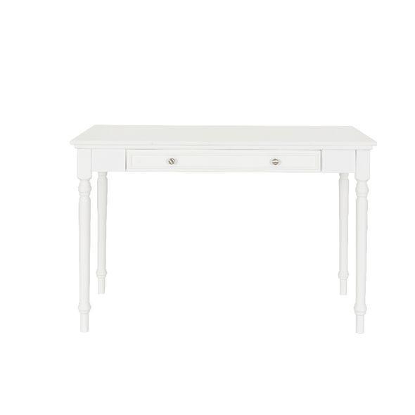 Plumeria Vintage Style Desk White image $179 office work