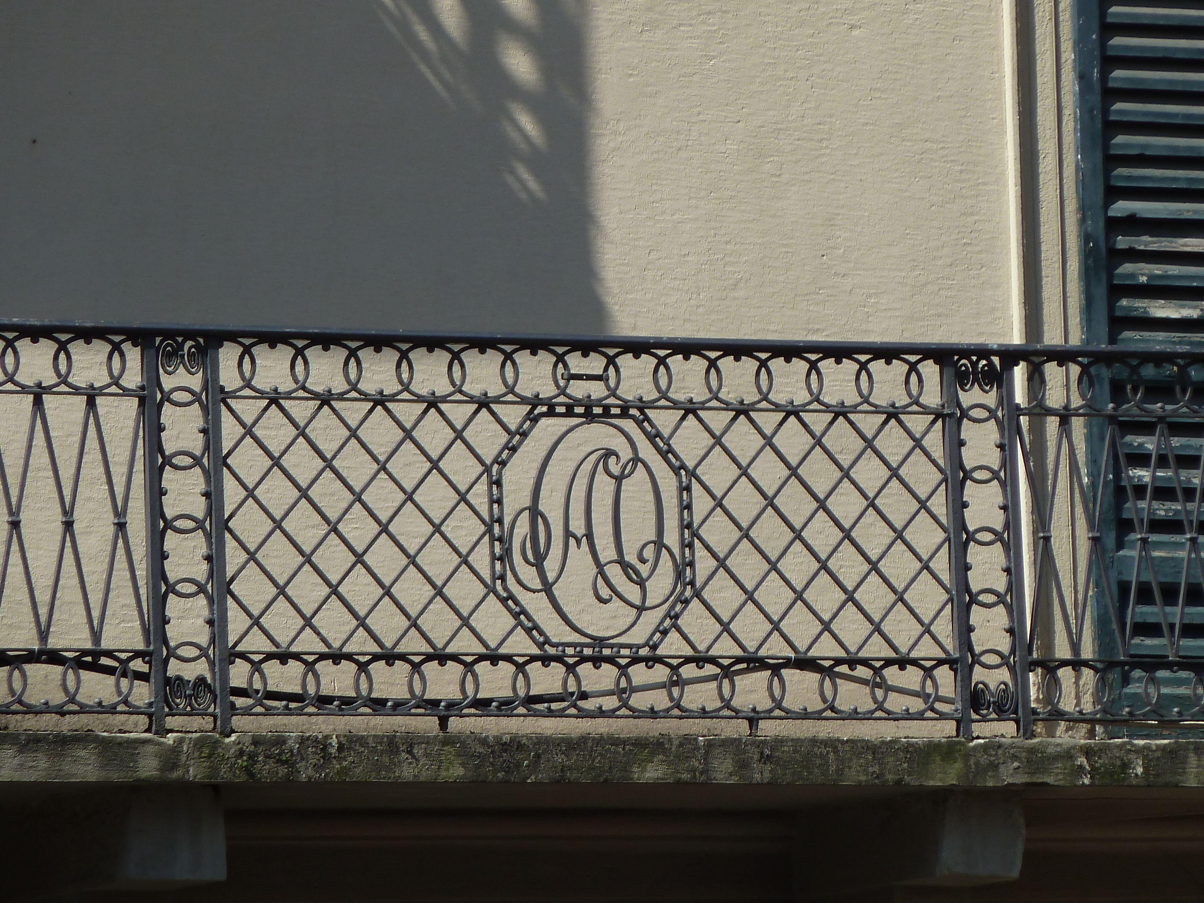 balcon à Côme