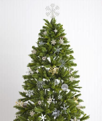 Festive Christmas Tree Decorating Ideas #sunflowerchristmastree