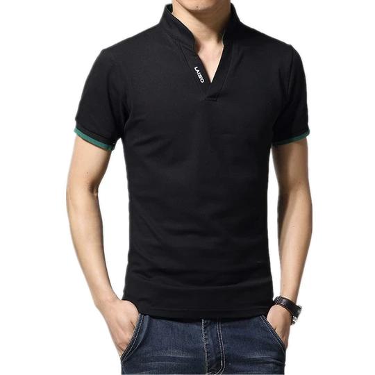 2018 New Arrival Cotton Men Polo Shirt Tops Fashion Brand Plus Size Sh Geekbuyig Mens Clothing Trends Mens Polo Shirts Long Sleeve Polo Shirt