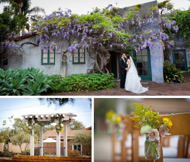 Santa Barbara Historical Museum Wedding By Bergreen Photography
