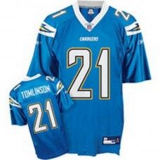 9d339fac1 Chargers LaDainian Tomlinson  21 Stitched Baby Blue NFL Jersey