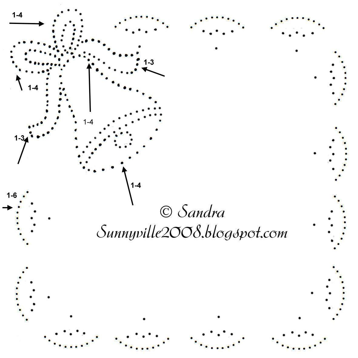 Tin Punch Christmas Bell Wedding Bell Pattern Met Afbeeldingen