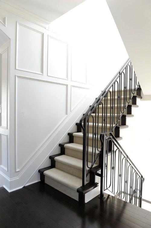 Iron railings, wains Iron railings, wainscoting | Home ...