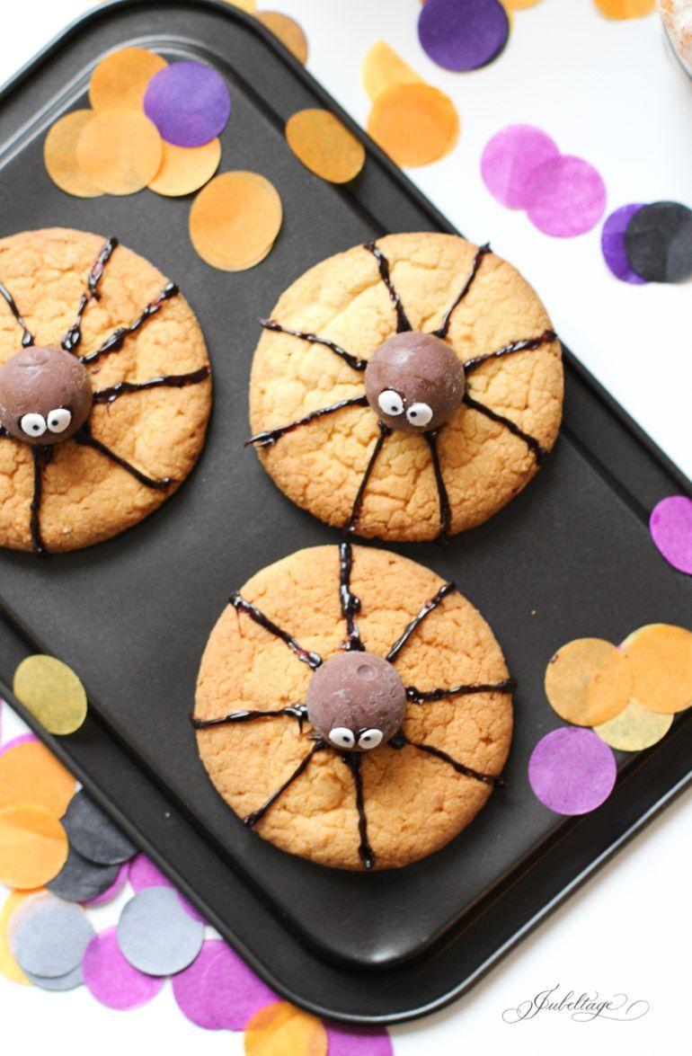 Spinnen-Kekse: Tolle Rezepte & Ideen für eine Halloween Party für Kinder oder Erwachsene #für #Halloween #Ideen #schnelle #zauberhafte #childrenpartyfoods