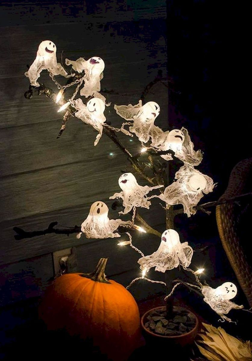 80 + CREEPY OUTDOOR HALLOWEEN DECORATION IDEAS (74 Halloween - Pinterest Outdoor Halloween Decorations