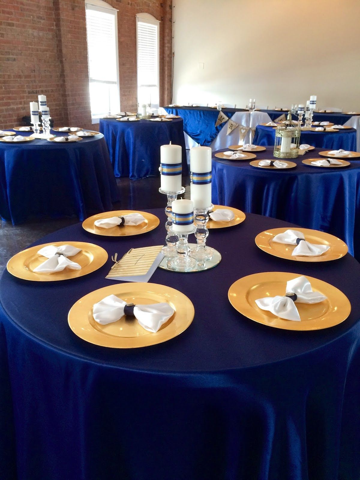 gold and navy blue wedding theme Google Search Navy