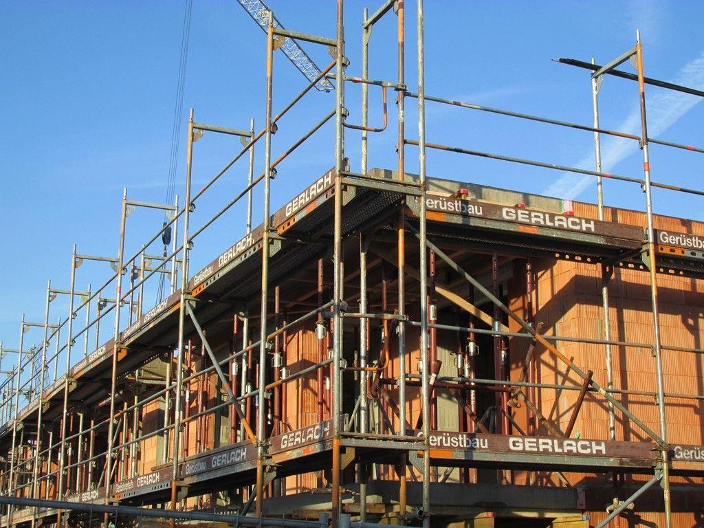 Bautenstand 21.01.2015 Aschaffenburg, Baubeginn, Bau