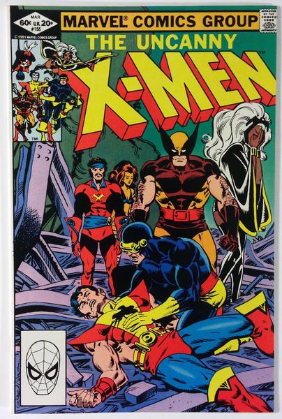 Marvel Comics The Uncanny X Men 155 1st App Of The Brood Chris Claremont Nm 9 2 Marvel Comics Covers X Men Marvel Comics