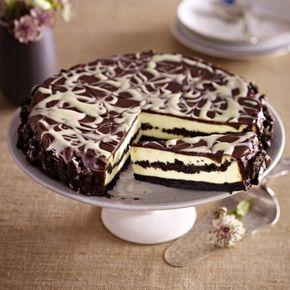 Receta de pastel de queso con galletas de chocolate DELICIOSO