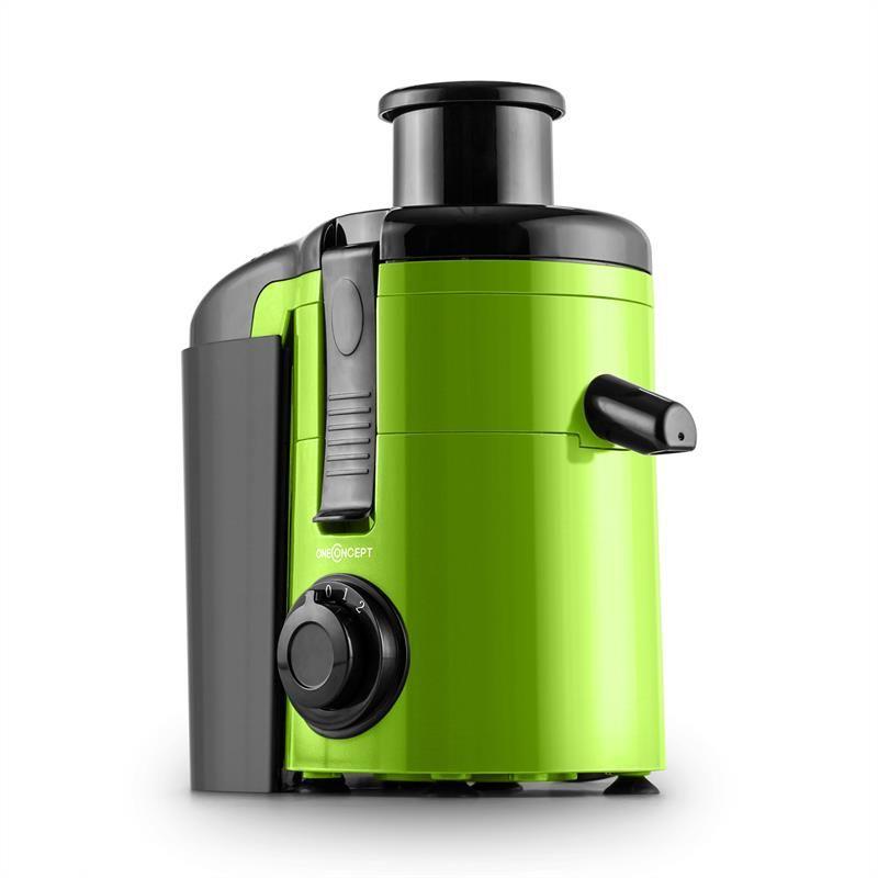 oneConcept Juice Ninja Entsafter Saftpresse 250W 11.000U min grün ... | {Entsafter 22}