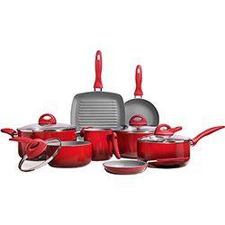Utilidades Domésticas: panelas inox, tigelas, potes - Shoptime