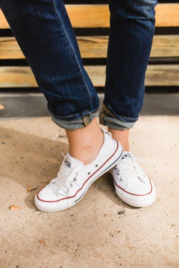 Converse Shoreline Womens Shoes Chuck Taylors in white 05ffd4b5a