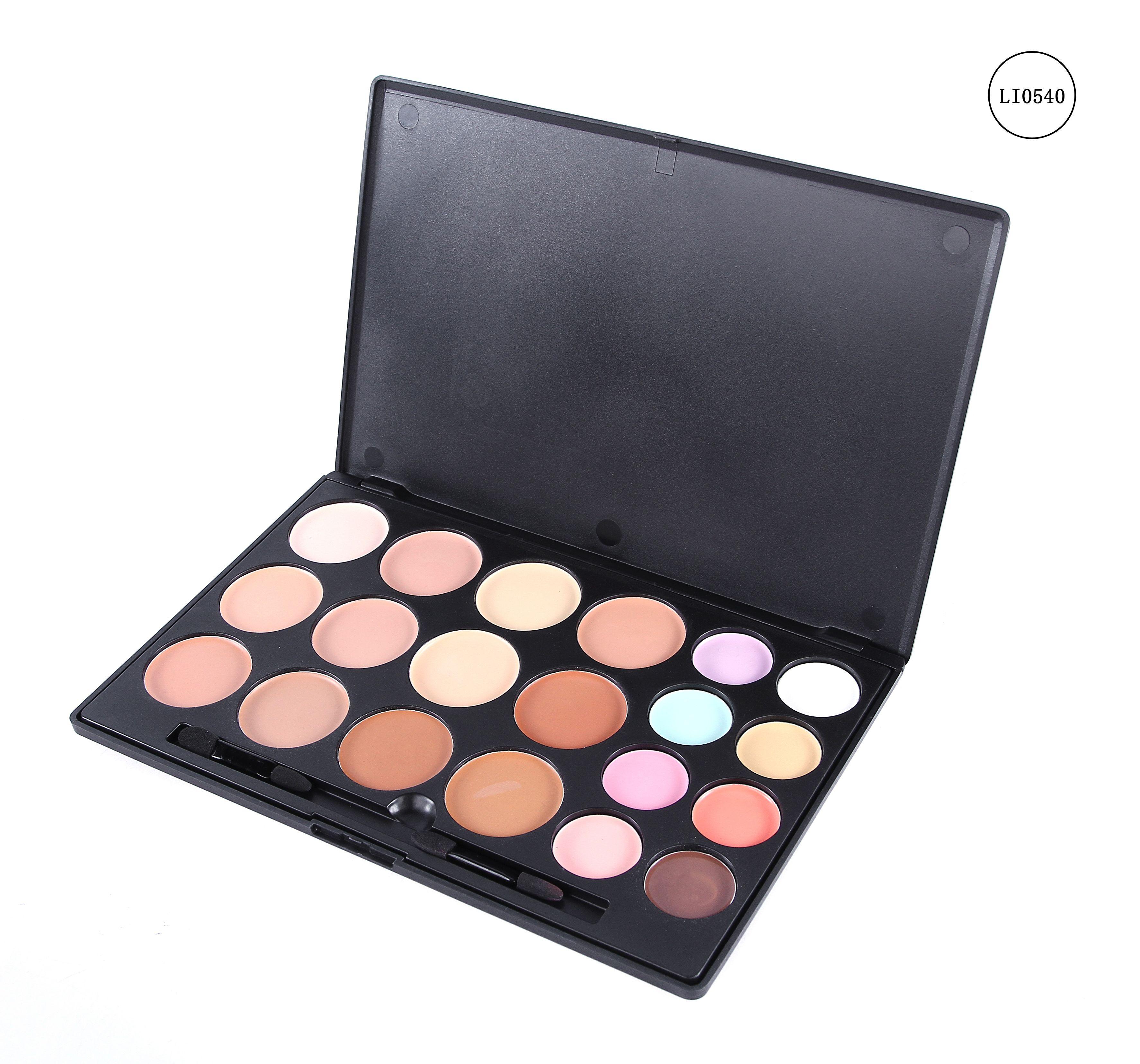 كنتور ليليان الكريمي 20 لون تظم الوان الاضاءة المستخدمة مع الكنتور ليليان Eyeshadow Beauty