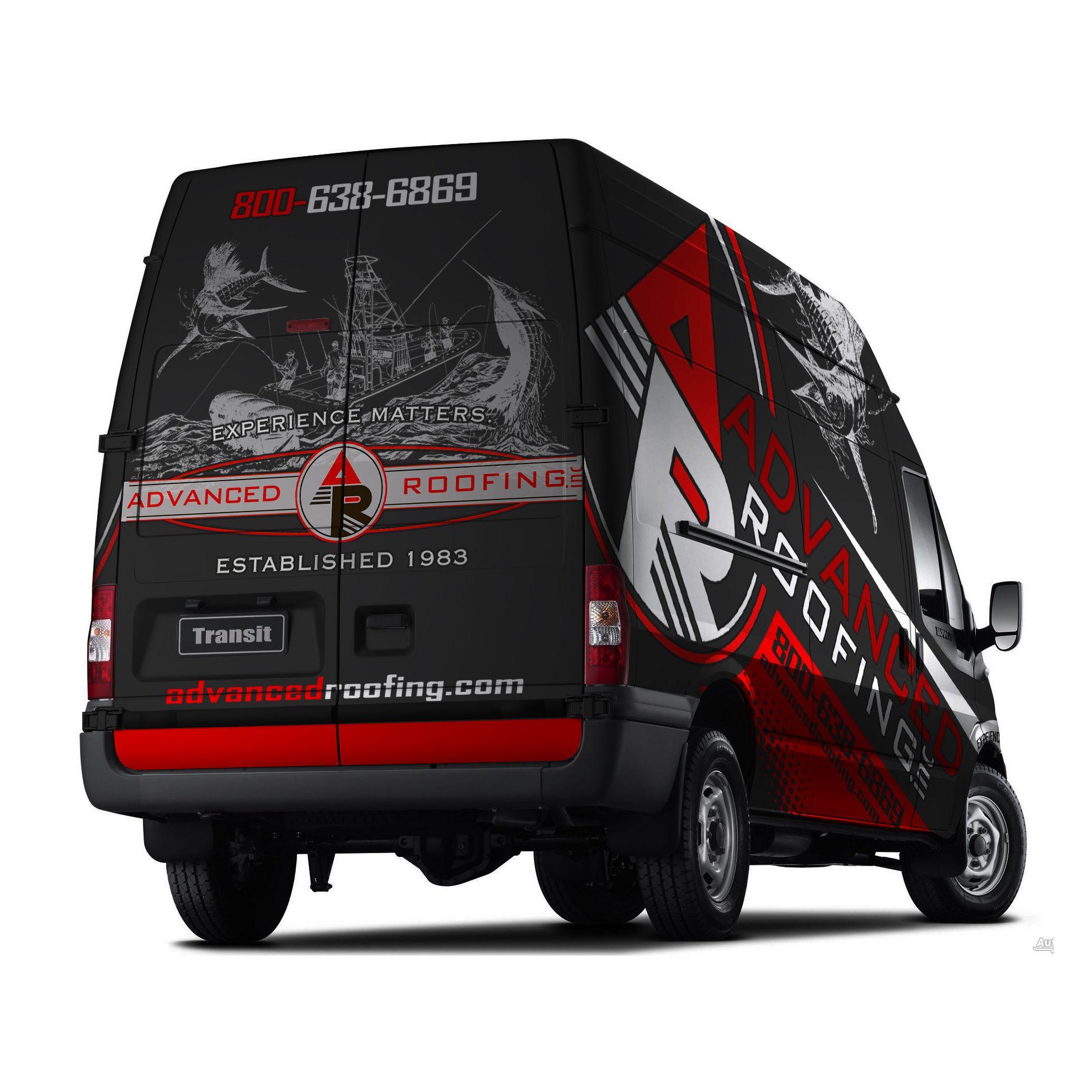 Activity Van Wrap Based off Your Truck Design