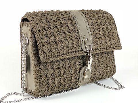 Tutorial Borsa Uncinetto Moddoppiag Crochet Punto Ventaglio