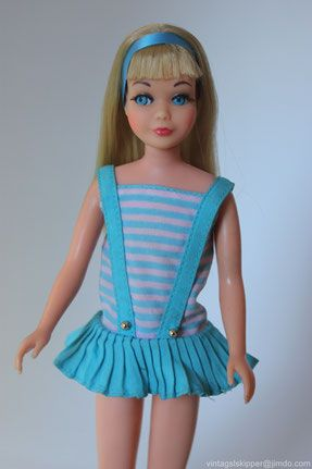 A guide to vintage Skipper dolls - Skipper Website #skipperdoll