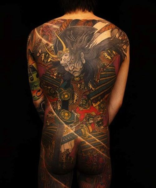100 brave samurai tattoo designs and meanings 2017 for Dragon and samurai tattoo meaning