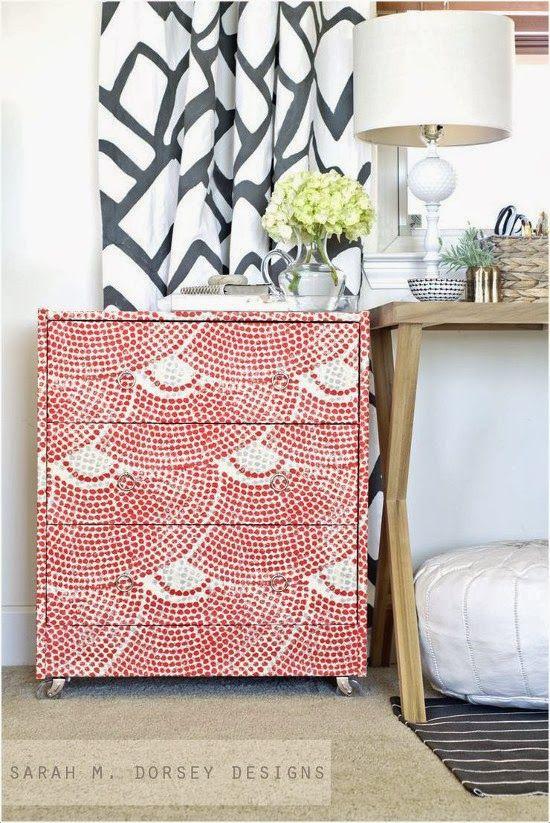 Forrar con tela   tuneado y restauracion de muebles   Pinterest ...