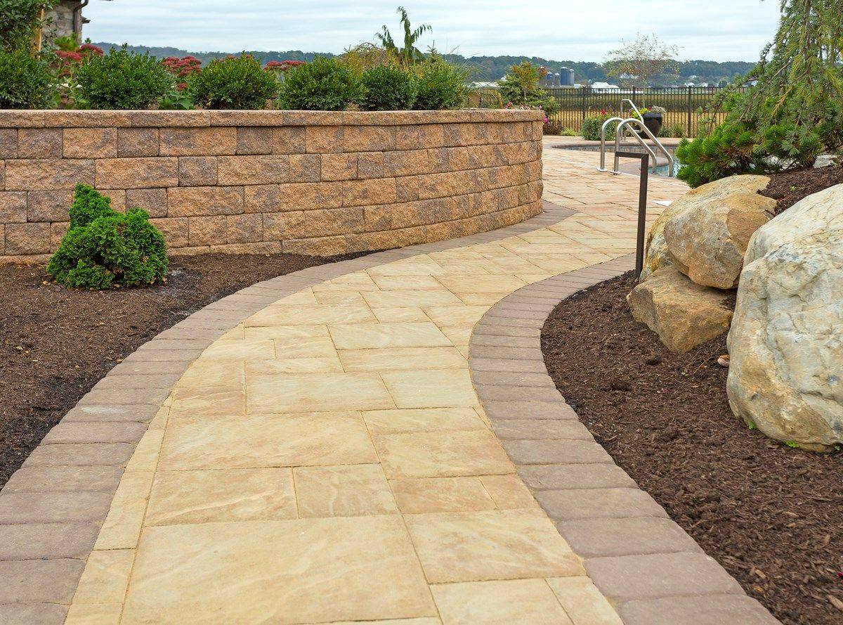 Bristol Stone Walkway in Avalon blend | Walkways & Steps ...