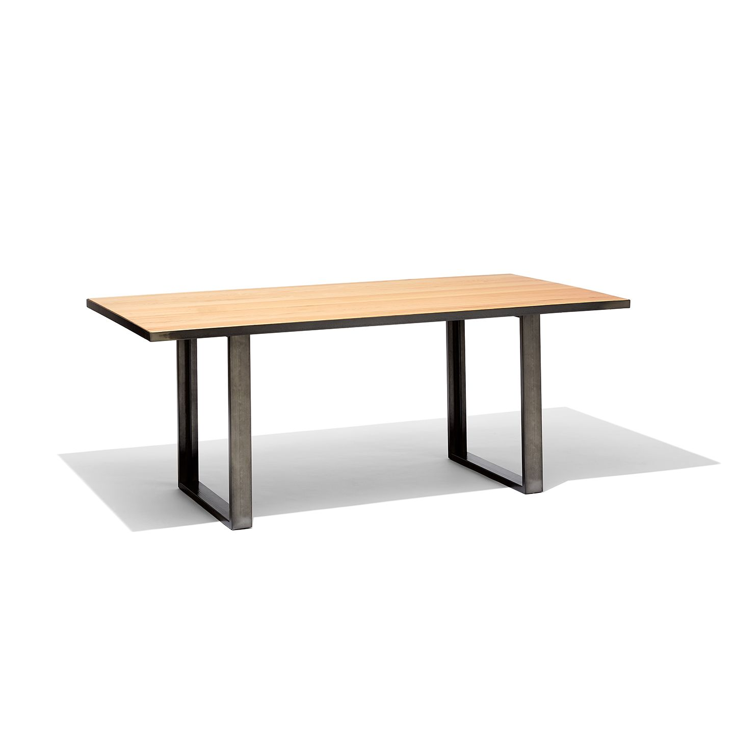 Industrial Rectangular Meeting Table Tables Products West