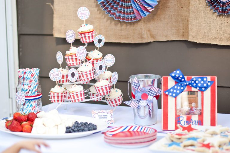 Beckett's Vintage Americana 1st Birthday Party 1st