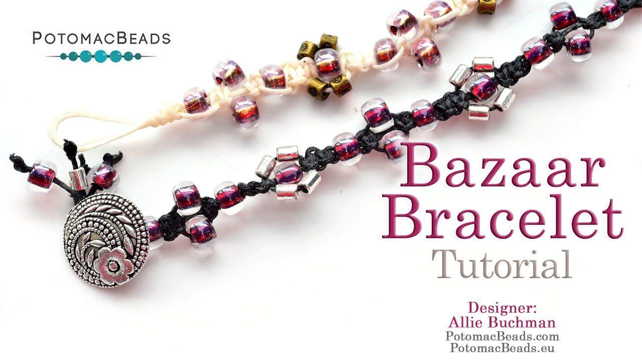 Bazaar bracelet diy jewelry making tutorial by