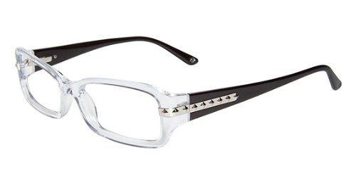 Bebe Eyeglasses Bb5042 971 Crystal 53mm   Clothing & Accessories ...