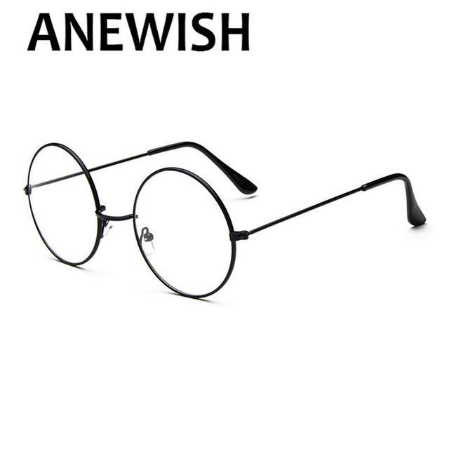 f63d6f015b93e Anewish nova rodada vintage óculos homens mulheres harry potter óculos de  armação de prescrição óculos oculos de grau femininos   81