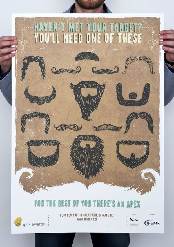 Apex Awards 2012 by Says Who, via Behance