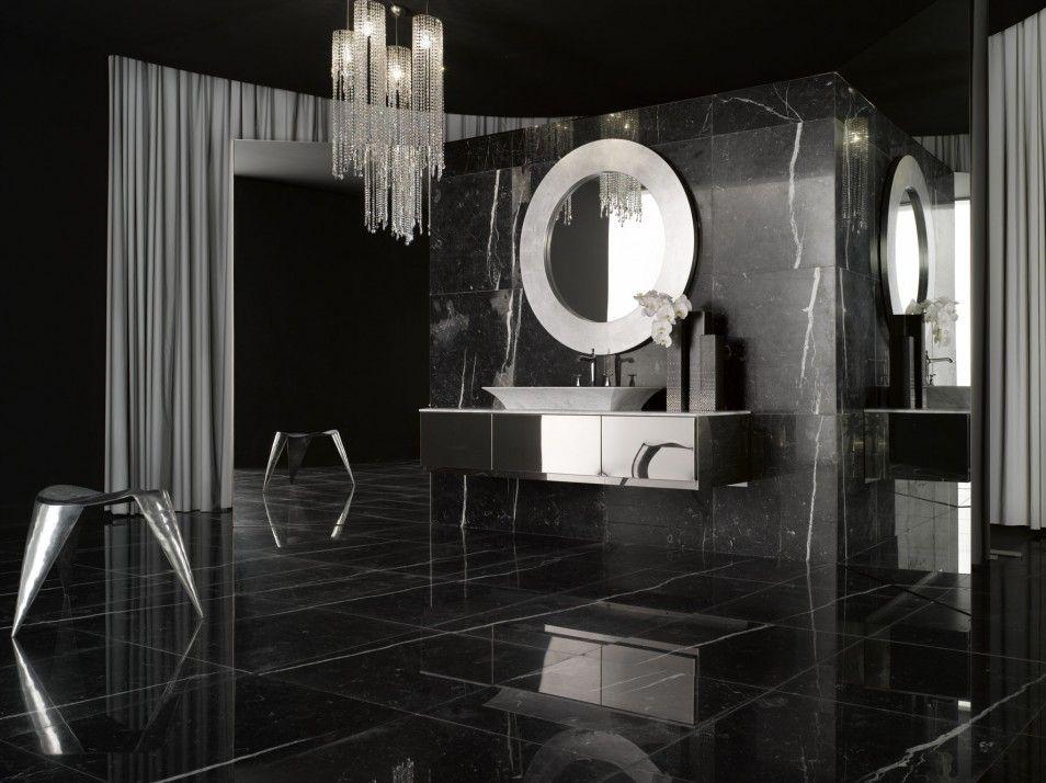 The Modern Black And White Bathroom Design In Classic Bathroom Ideas At Interior Home The Bat Bathroom Design Luxury White Bathroom Furniture Bathroom Interior