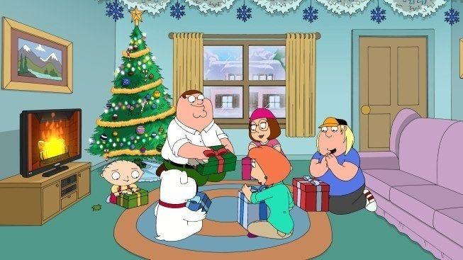 American Dad Christmas Episodes.Family Guy Christmas Seth Macfarlane Family Guy