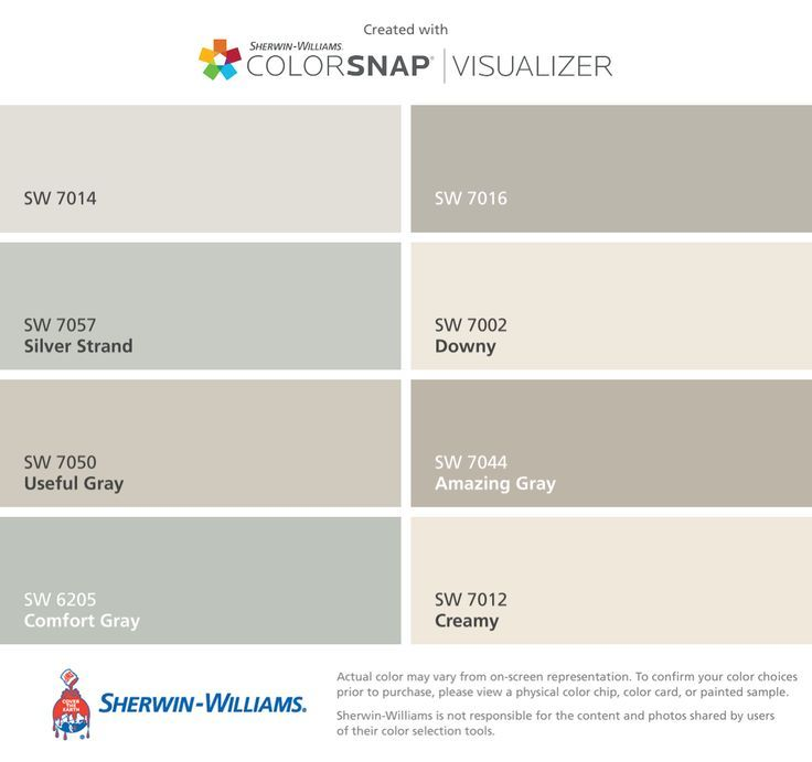 8 Best Th Main Paint Color Sw Canvas Tan Images On: Image Result For Agreeable Gray Silver Strand