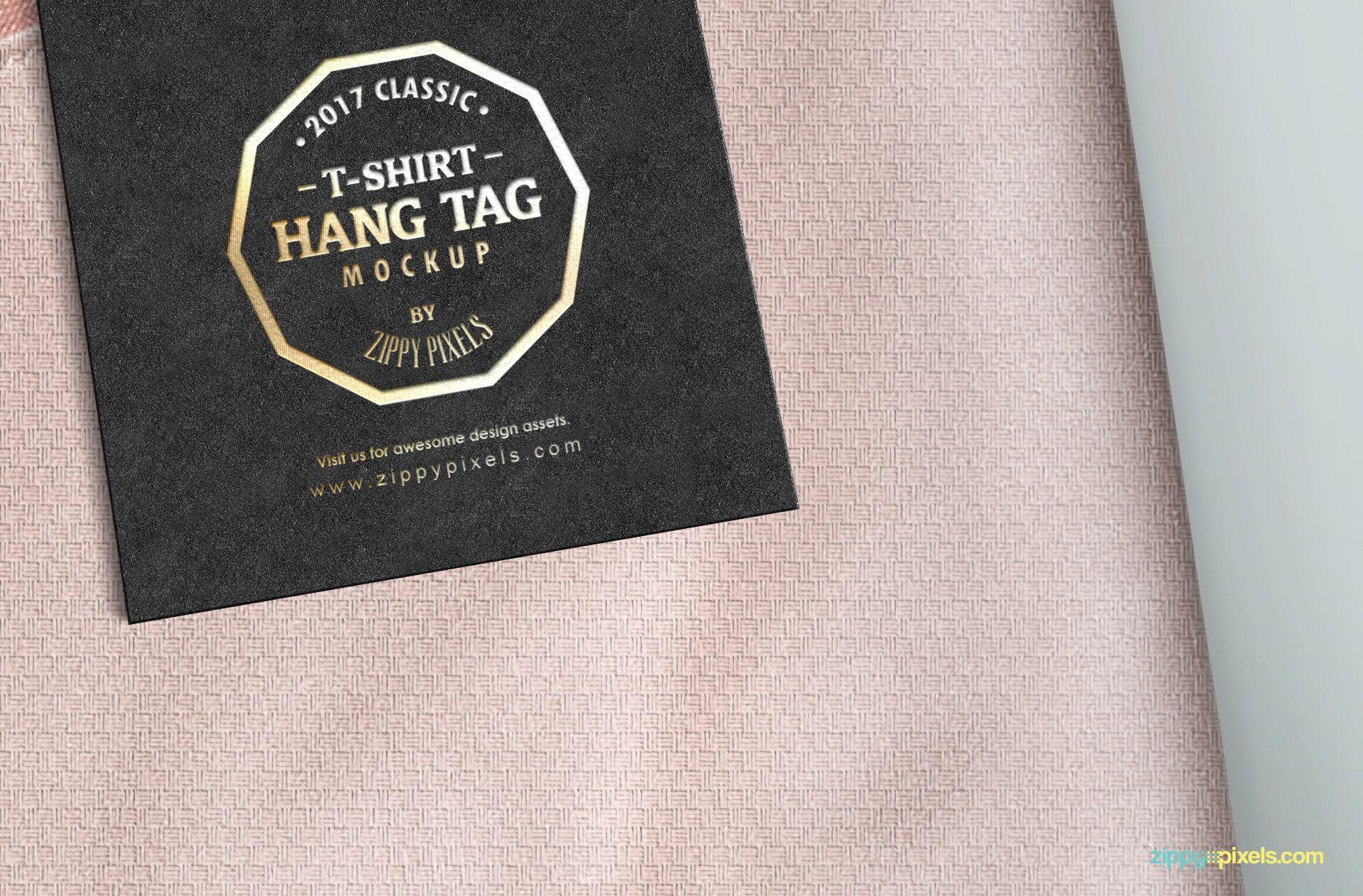 Download Classy Label Tag Mockup Freebie Zippypixels Clothing Mockup Label Tag Clothing Tags