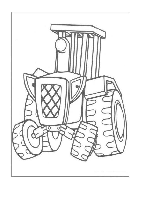 Dibujos para Colorear Bob el constructor 2 | Dibujos para colorear ...