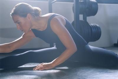 Stretching exercises cause the fascia to extend, creating room for muscle growth.